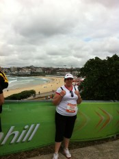 12mths later August 2011... my first city2surf after a year of yo yo dieting I decided enough was enough... I had to get serious and put in much more effort It was this pic that made me join the 12wbt