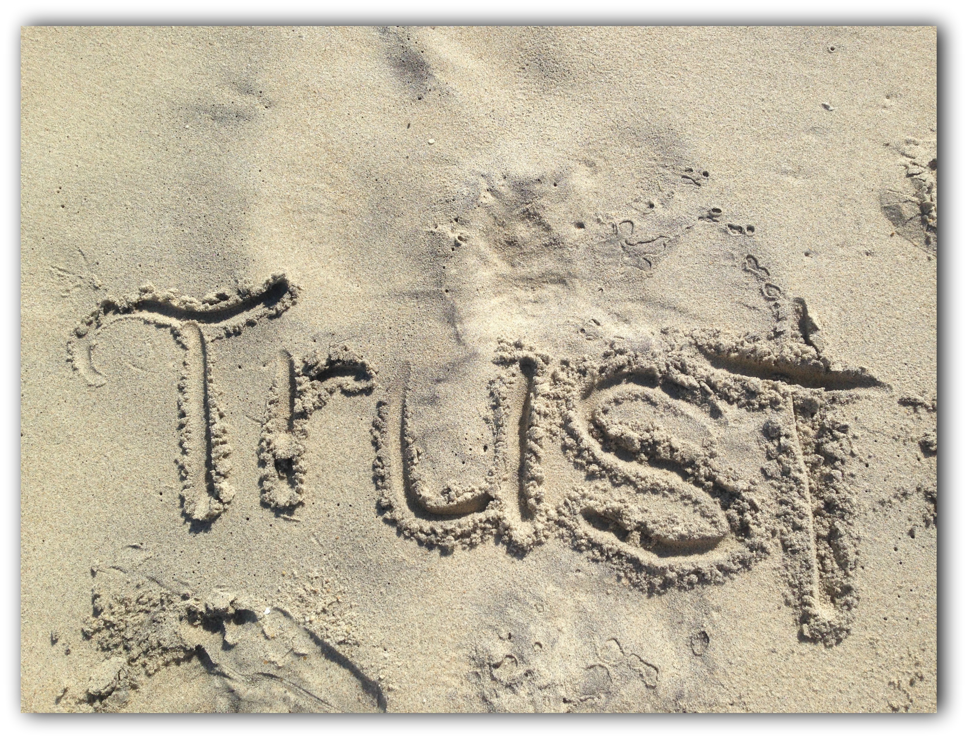 Trust and Obey – My Journey of Faith