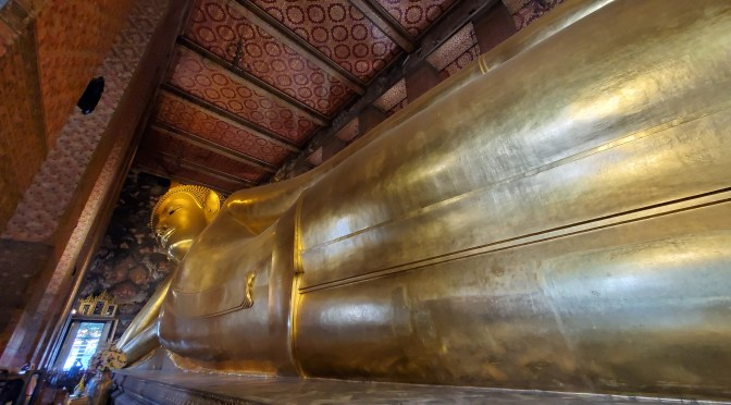 Wat Pho- Temple of The Reclining Buddha & Khaosan Rd