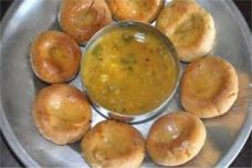 Daal Baati | Image Resource : fortunecookingoil.com/northindian/2/Rajasthani-food-recipe.php