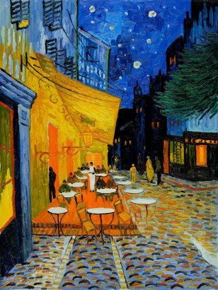 Cafe Terrace at Night