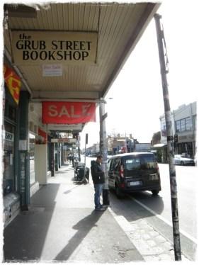 Grub Street Bookshop, Brunswick Street