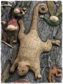 Fairy Tree Detail, Fitzroy Gardens