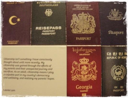 Passports, Immigration Museum