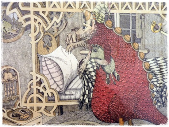 Dragon in Bed (Peter Pavey)