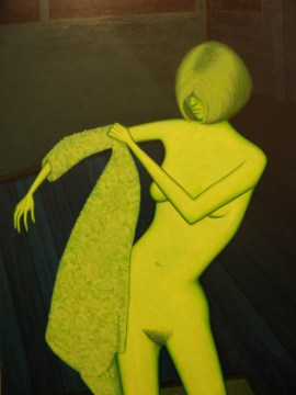 Nude with Dressing Gown (John Brack)