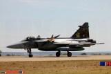 The Czech Air Force 211 TL JAS-39C Gripen, Zaragoza Air Force Base, 05/2016.