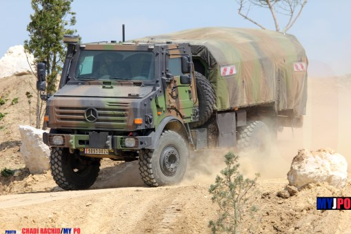 French Army Unimog CCP 3.5 aircraft refueling truck (Avitailleur) of the Service des Essences des Armées (SEA), Eurosatory, 06/2014.