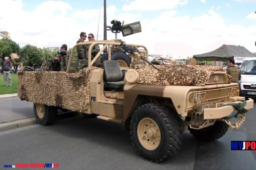 French Army VLRA TPK 4.36 STL PATSAS of the 1er Régiment Parachutiste d'Infanterie de Marine (1er RPIMa), Esplanade des Invalides, Paris, 14 juillet 2009.