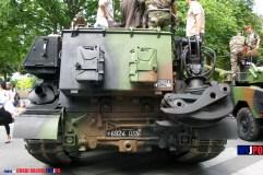 French Army EBG F1 armoured engineering vehicle of the 19e Régiment du Rénie (19e RG), Place de la Nation, Paris, 14 juillet 2009.
