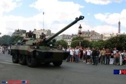 French Army AMX-10 RCR of the 1er Régiment Etranger de Cavalerie (1er REC), Esplanade des Invalides, Paris, 14 juillet 2009.