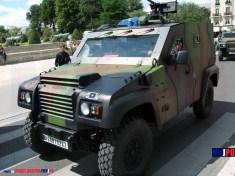 French Army PVP DAGGER of the 68e régiment d'artillerie d'Afrique, Esplanade des Invalides, Paris, July 14, 2009.