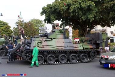 French Army EBG SDPMAC (Carpet mine breaching system) of the 31e Régiment du Génie (31e RG), Place de la Nation, Paris, July 14, 2011.