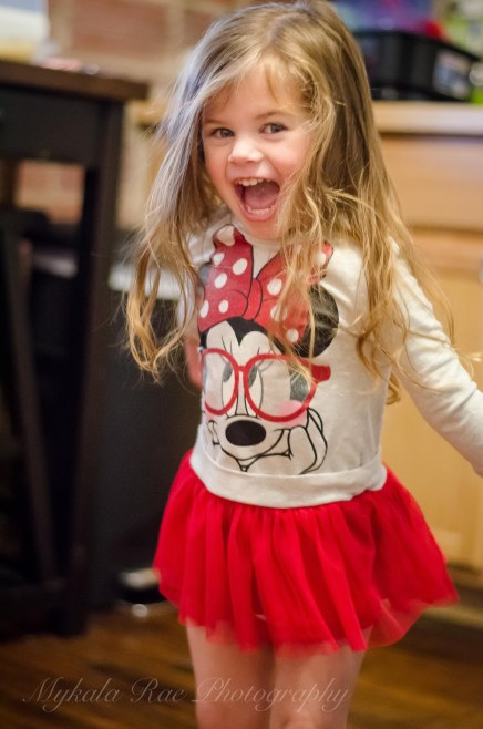 Adalena, who will be 3 on December 28th!