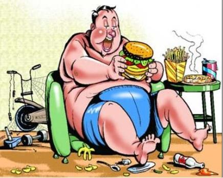 पेट पर मोटापे का टायर