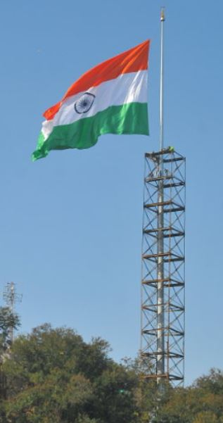 Indian Flag 350 Ft