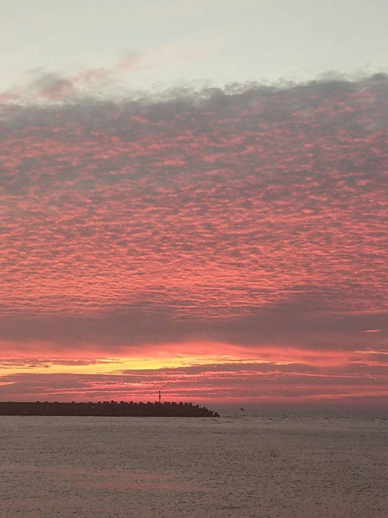 Kaohsiung Sunset Jiading Harbor