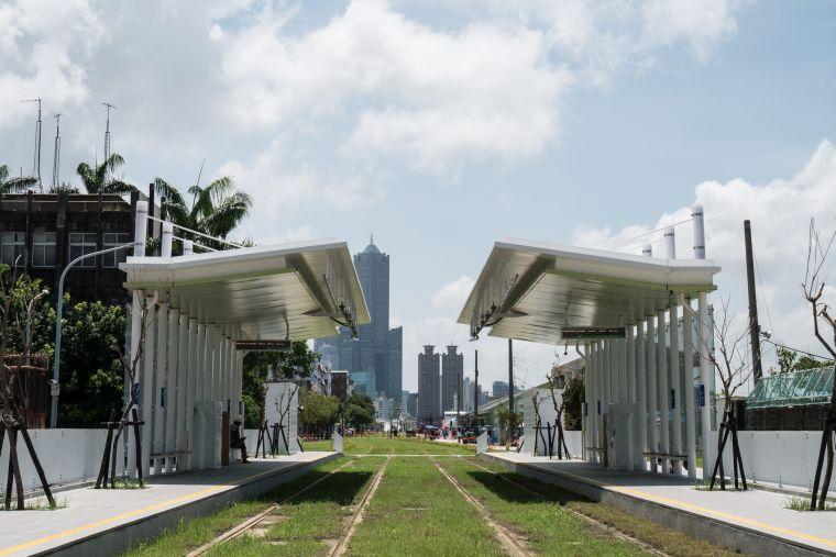 Kaohsiung LRT Station Penglai Pier-2 Sizihwan