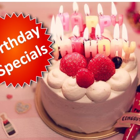 Kaohsiung Birthday Specials
