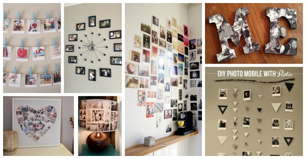 Adorable DIY Photo Collage Ideas That Will Make Your Place ...