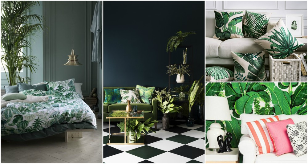 amazing living room wallpaper design of see why botanic style is the ultimate interior hit ...