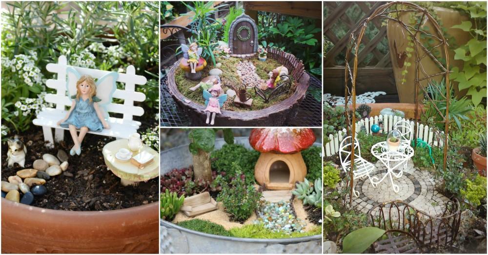 Awesome DIY Fairy Garden Ideas That Anyone Can Make