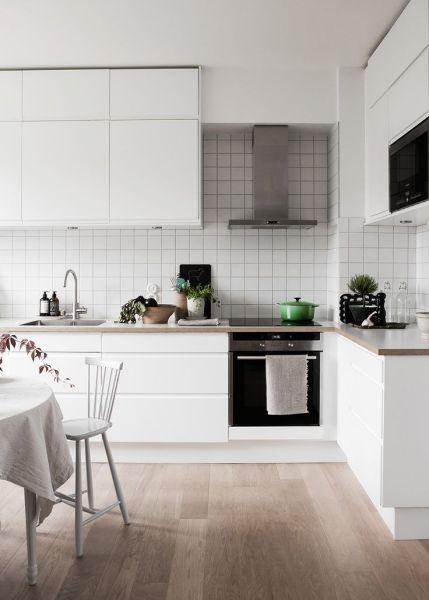 scandinavian interior design kitchen white Fascinating Scandinavian Kitchen Designs That Feature