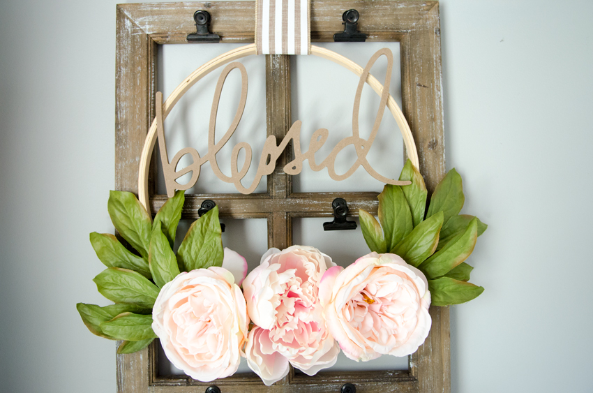 DIY Hula Hoop Wreath Is A BudgetFriendly Idea For Parties