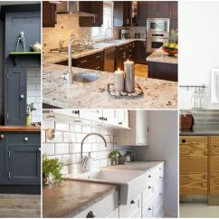 Used Kitchen Countertops Single Sink Pros And Cons Of The 4 Most Countertop Materials