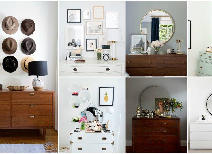 professional tips for dresser top decor