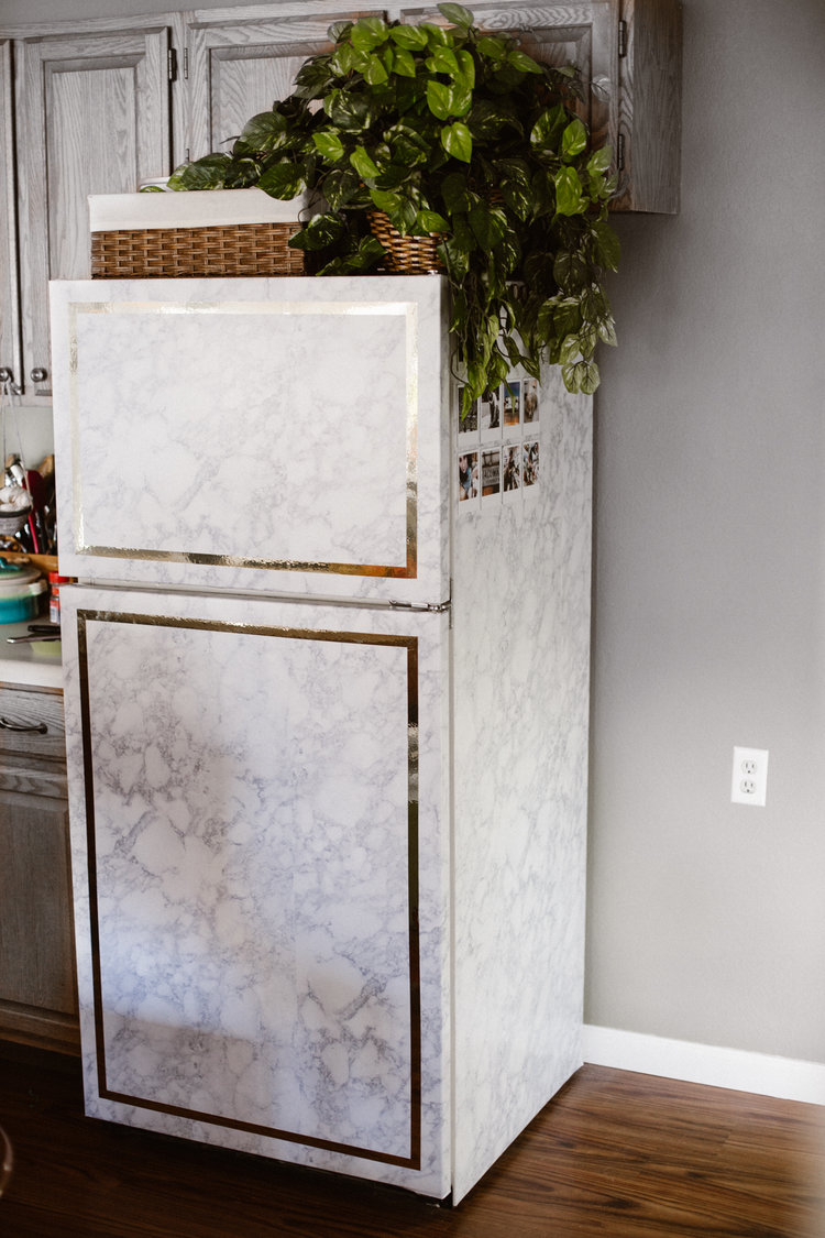 Stunning Fridge Makeover Ideas That Will Not Break The Bank