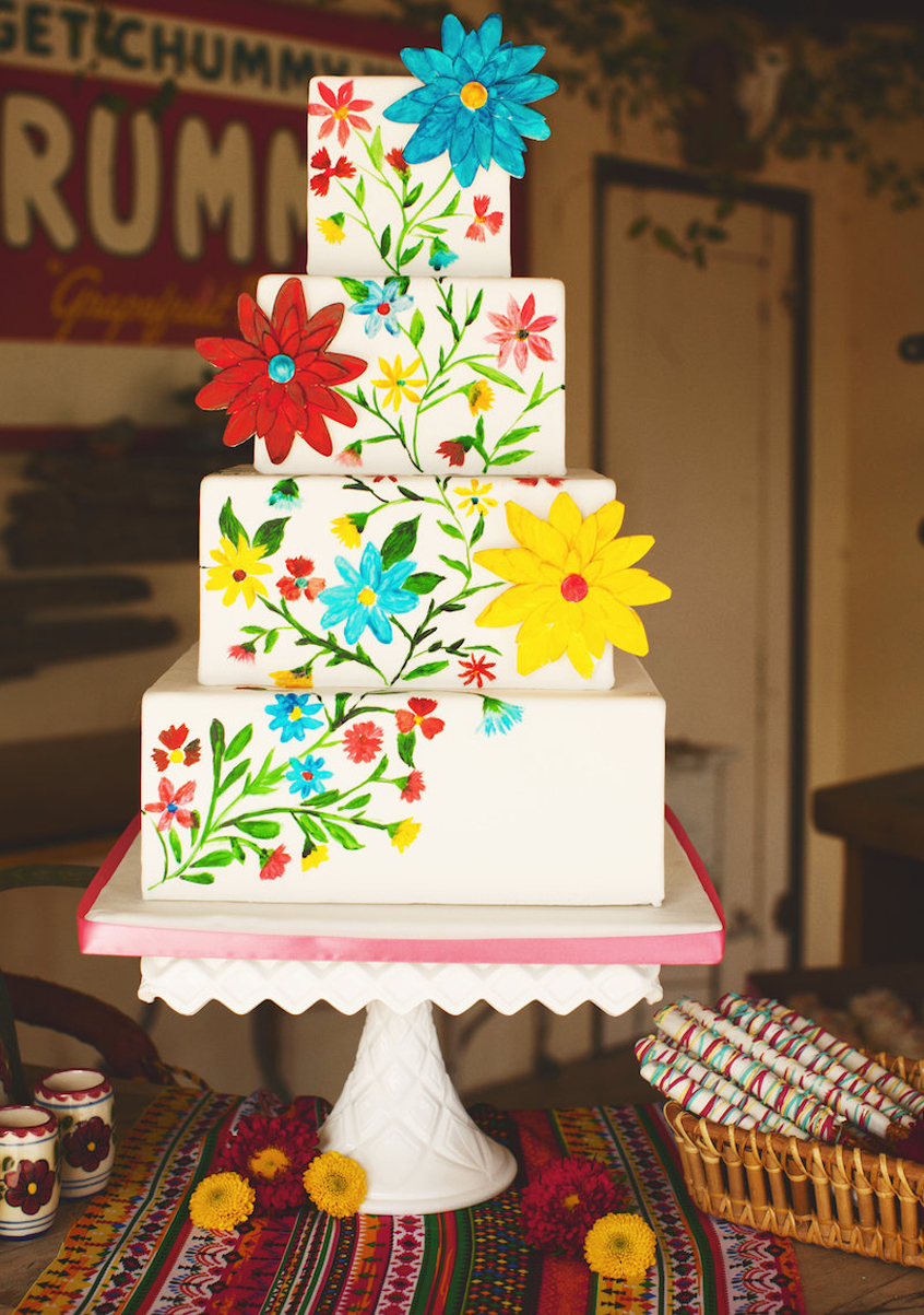 Mexican Wedding Cake Ideas That Are So Colorful