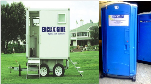 Kenya Mobile Toilets by Excloosive