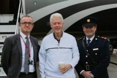 MKA Bill Clinton at Shannon