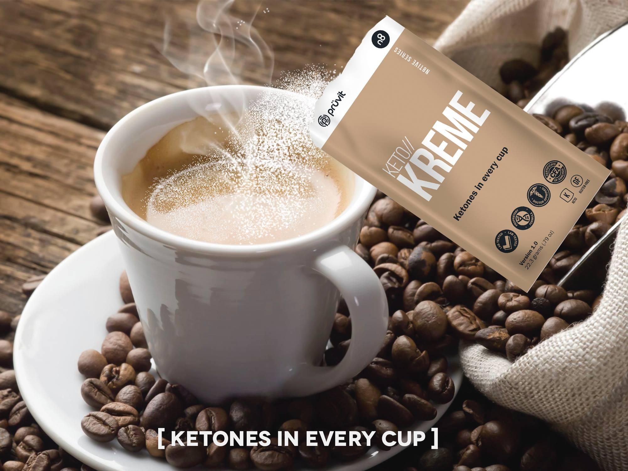 keto kreme by pruvit bullet proof coffee simplified