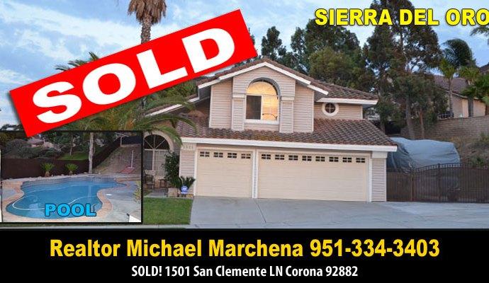 Sierra Del Oro Corona Home For Sale 92882