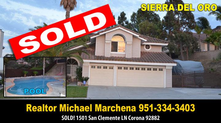 Sierra Del Oro Home for Sale in Corona California 92882