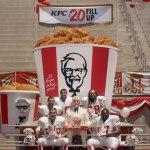 KFC 20 Dollar Fill Up
