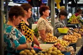 Vendedoras de Patatas - Potatoes Sellers