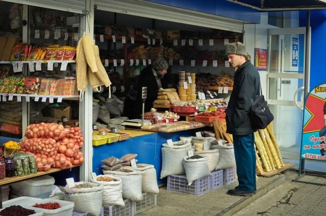 Otro Puesto en el Mercado - Another Stall in the Market