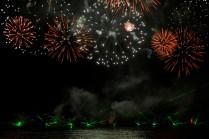 Fuegos Artificiales sobre el Río Amur - Fireworks Over the Amur River