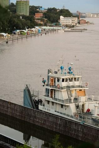 Barcazas de protección - Protective barges