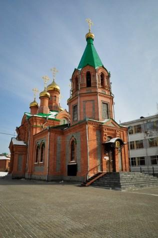 2013-02-17 - Khabarovsk - Iglesia de San Inocente de Irkustk (1)