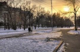 2012-11-25 - Khabarovsk - Paseando en el Bulevar