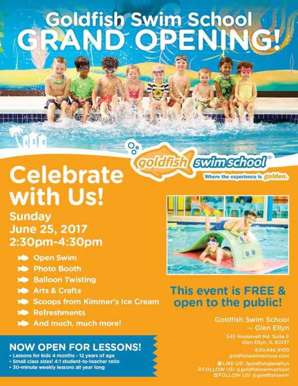 Free Splash Bash Goldfish Swim School Glen Ellyn - Kidlist Activities Kids