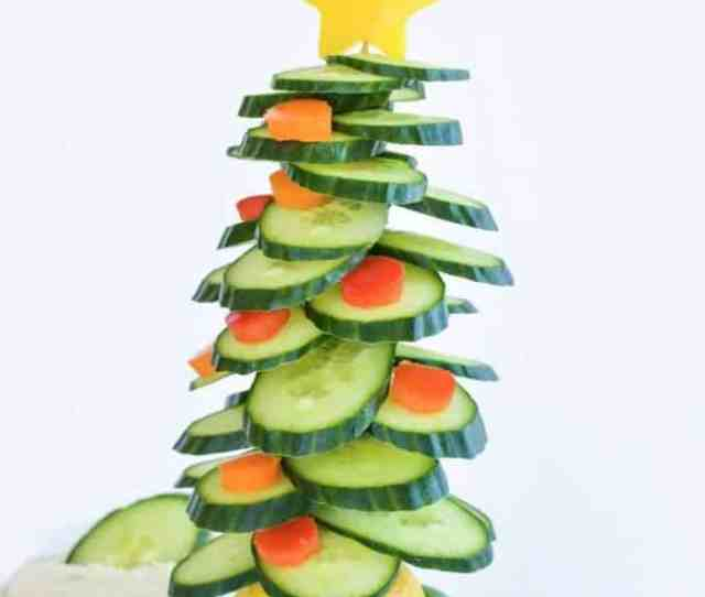 Edible Christmas Tree A Healthy Fun Christmas Snack And Kid Craft Activity