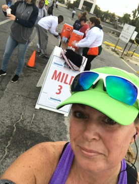 Water at mile 3
