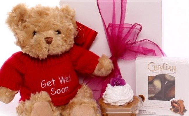 Get Well Gift Box Get Well Gift Box For Her Get Well