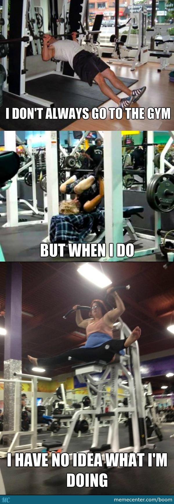 Gym Memes For Ladies : memes, ladies, Funniest, Fails, Memes, Monday