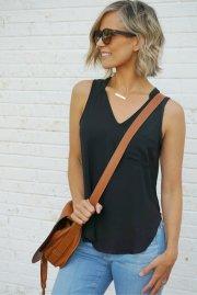 summer style short hair blue